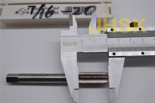 S 1pcs 7//16-20UNF HSS TAP Right helix Inch MACHINE TAP 7//16-20 US TAP