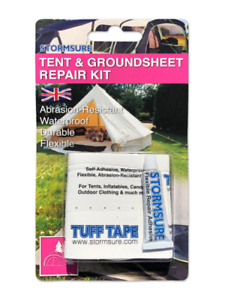 Stormsure Tent And Groundsheet Repair Kit
