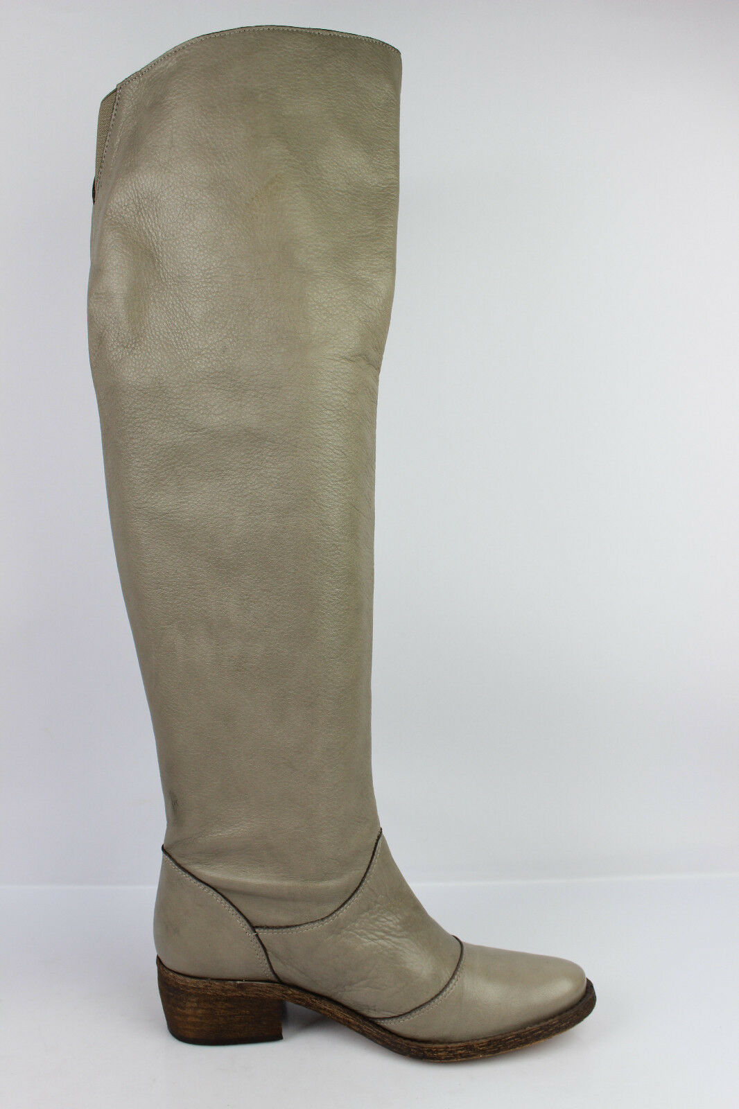 Bottes Cuissardes 1060 T Cuir Beige taupe T 1060 37 TBE 77a5c7