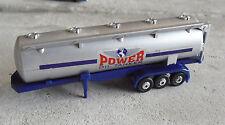 HO Scale Plastic Power Oil Tanker Truck Trailer