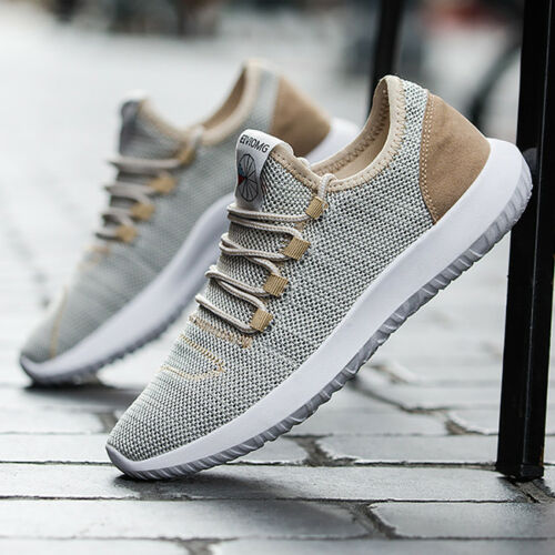 Men/'s Sport Shoes Breathable Mesh Walking Athletic Casual Sneakers Running BS