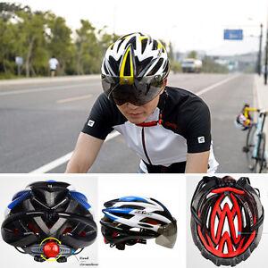 Road Mountain Bike Bicycle Cycling Helmet Visor Adjustable Outdoor