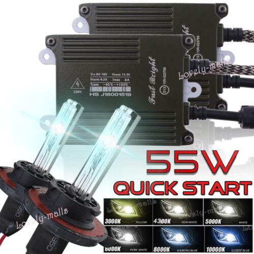 Quick Start 55W Car HID Xenon Conversion KIT Bulb FIT Chevrolet Silverado 1500