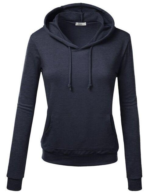 Warm Women's Hoodie Sweatshirt Sweater Casual Hooded Top Coat Pullover Jacket