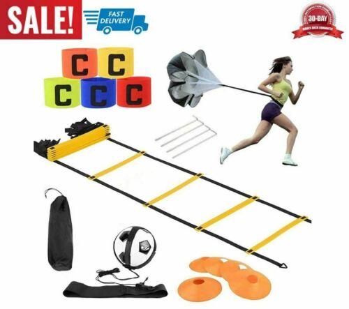 Details about  /conjunto de ejercicios entrenamiento en escalera agilidad de velocidad kit gym