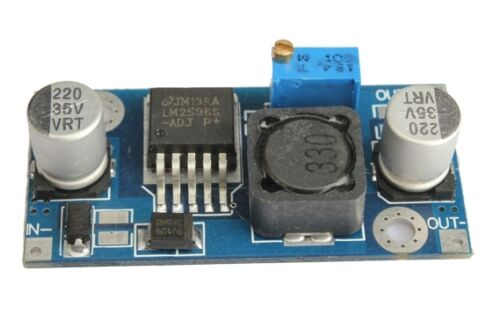 DC-DC Buck Converter Step Down Module LM2596 Power Output 1.23V-30V