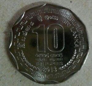 Sri Lanka 10 Rupees coin 2013