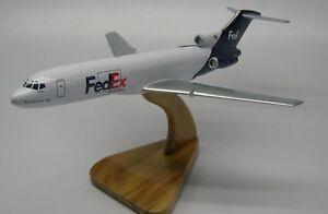 B-727-200 Fedex Cargo Boeing Airplane Desk Wood Model ...