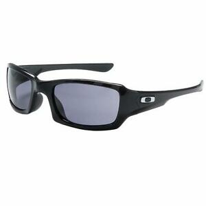 154d2bb96c New Oakley Fives Squared Sunglasses Black Grey Free Shipping! OO9238 ...