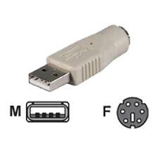 BELKIN PS/2 KEYBOARD MOUSE TO USB PORT CONVERTER Joblot Wholesale x10