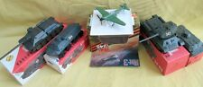 WWII T+SU Tanks USSR Military Scale Models+BTR60APC+YAK3 Fighter+Scout Car/Boxes