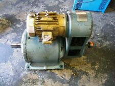 Reeves R356577 001 Po Reducer Drive B342 314 Gear Ratio With 5 Hp Baldor Motor