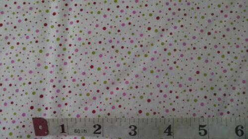 Spot à Pois Tissu, fat quarters, Spots Dots, Scandi .100% COTON