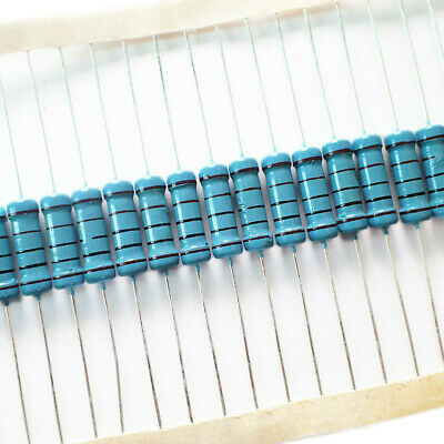 high quality 2W Metal Film Resistor ±1/% 2 WATT 1K Ω to 22M Ω Ohm