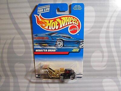 Auto- & Verkehrsmodelle 0910 Sporting 1999 Hot Wheels Sammler #1044 = Whatta Ziehen Sie = Schwarz