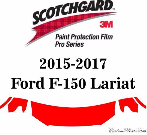 3M Scotchgard Paint Protection Film Pro Series 2015 2016 2017 Ford F-150 Lariat