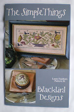 "Blackbird Designs ""The Simple Things"" Counted Cross Stitch Pattern"