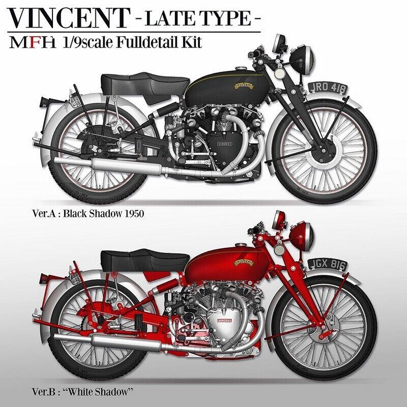 1 9 KIT VINCENT White shadow 1950 - model factory hiro  MFH K622