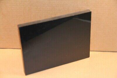 "High Density Polyethylene Plastic Sheet 1//4/"" x 3-3//8/"" x 40-1//8/"" Black HDPE"