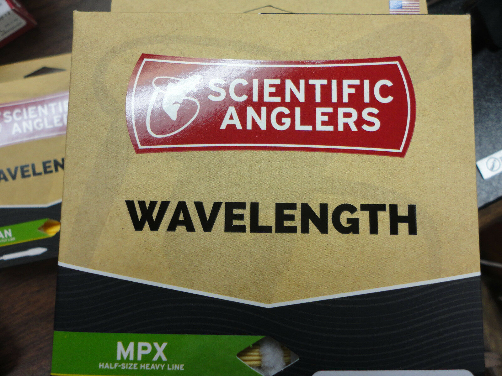 Scientific Anglers MPX Wavelength Series Fly Line WF-7-F Amber   Green