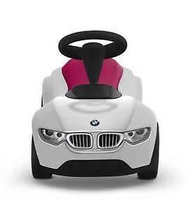 BMW Genuine OEM Baby Racer III WHITE//RASBERRY 80-93-2-413-784
