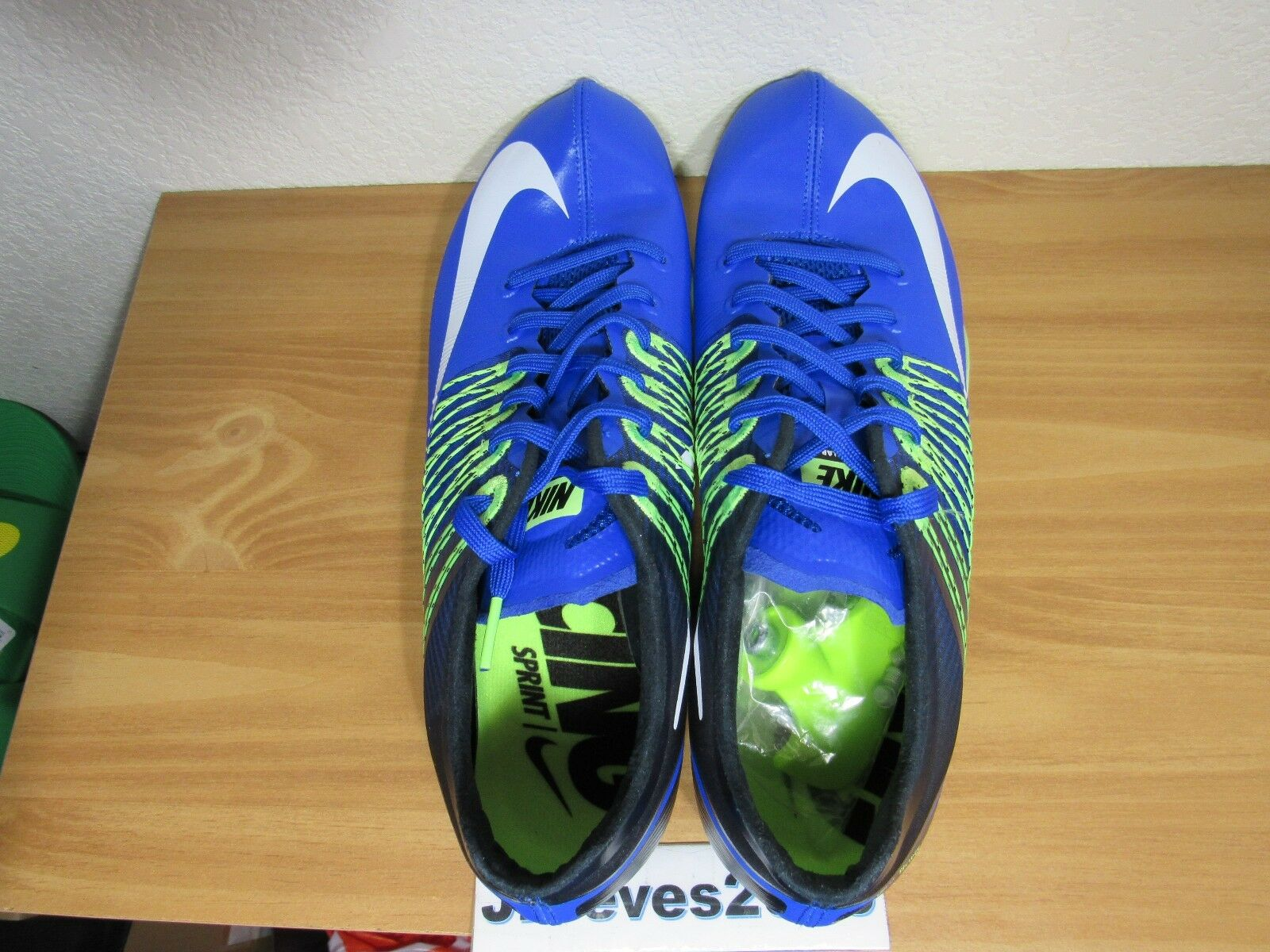 detailed look d2f69 f5576 ... Nike Zoom Celar 5 5 5 Sprint Track   Field Spikes Sz 11.5 100%  Authentic ...
