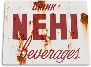 Nehi-Beverages-Kitchen-Cola-Soda-Beverage-Rustic-Soda-Metal-Decor-Sign