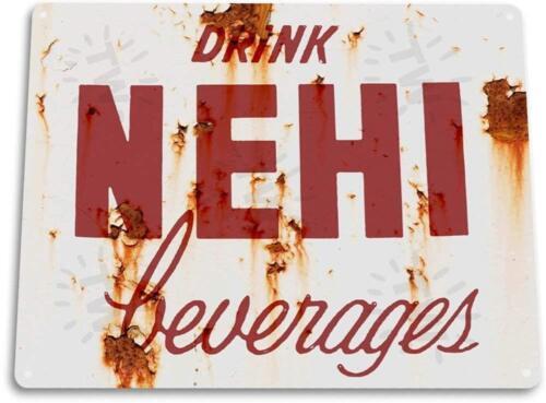Nehi Beverages Kitchen Cola Soda Beverage Rustic Soda Metal Decor Sign