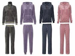 Esmara Damen Nickianzug Hausanzug Wellnessanzug Jacke + Hose Kapuzenjacke Weich