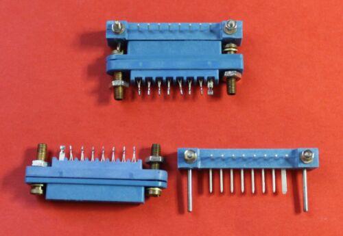Connector MRN8-1  8 pin M+F  USSR Lot of 10 pcs