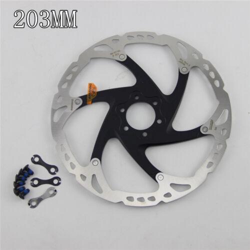 1PCS shimano XT RT86 6//7 Inch 160mm 180mm  203mm  Disc Brake 6-Bolts Rotor
