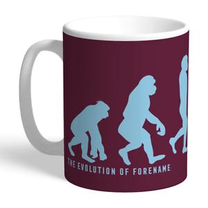 Burnley F.c - Personalised Ceramic Mug (evolution)