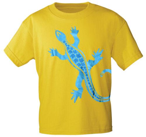 Print ○ GEKKO ECHSE 10487 gelb MARKEN SHIRTS unisex S M L XL XXL T-Shirt m
