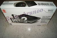 Dj Hero 2 Turntable Controller & Game Bundle Wii
