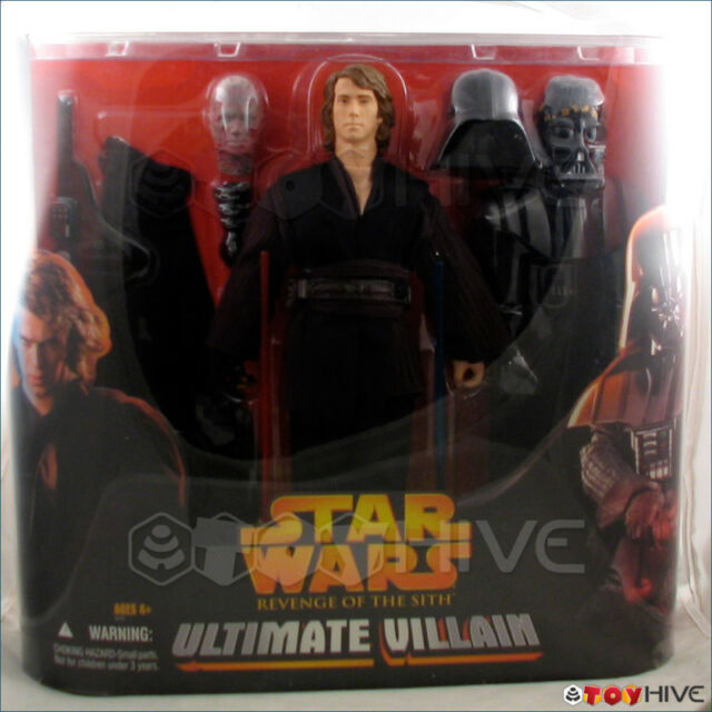 Hasbro Star Wars Revenge Of The Sith Ultimate Villain 12 Inch Anakin To Vader For Sale Online Ebay