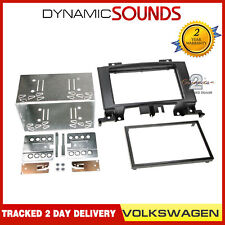 VOLKSWAGEN VW CRAFTER DOUBLE DIN FACIA FASCIA PLATE 2 DIN FITTING KIT CT23VW06