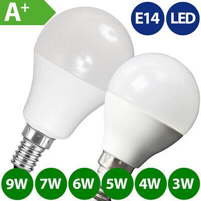 10x LED Glühlampe E14 480 Lumen 6W warmweiß 40W Glühbirne Kerze SMD Lampe Birne