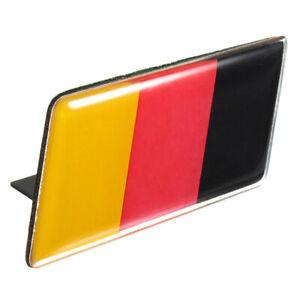 1X-German-Flag-Emblem-Badge-Sticker-Front-Grille-Bumper-for-Car-T6V1-B05