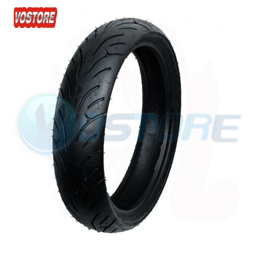 Rear Motorcycle Tires 120//70-17 /& 180//55-17 For Honda Suzuki Kawasaki Front