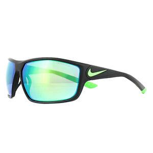 bfcb618e9f Nike Sunglasses Ignition R EV0867 003 Matt Black Green Grey Mirror ...