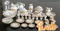 1: 12dollhouse Furniture Accessories Ceramic Tea Utensils Flower World 40
