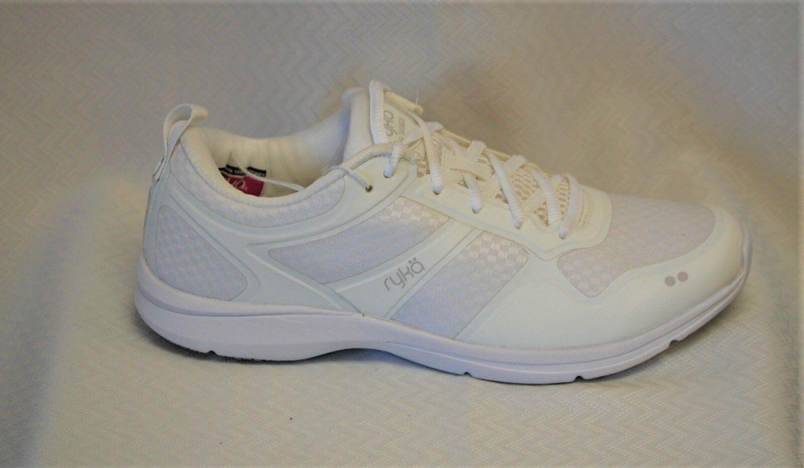 Ryka Sea Breeze Women's White Washable Mesh Slip Resistant Walker medium width