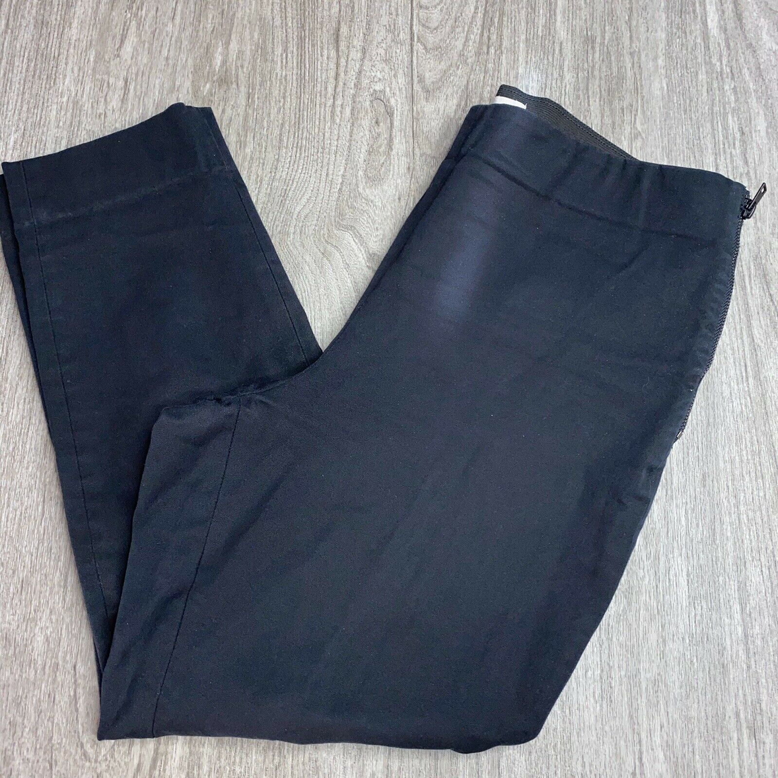 Everlane The Side-Zip Work Pants Size 12 Black Wo… - image 3