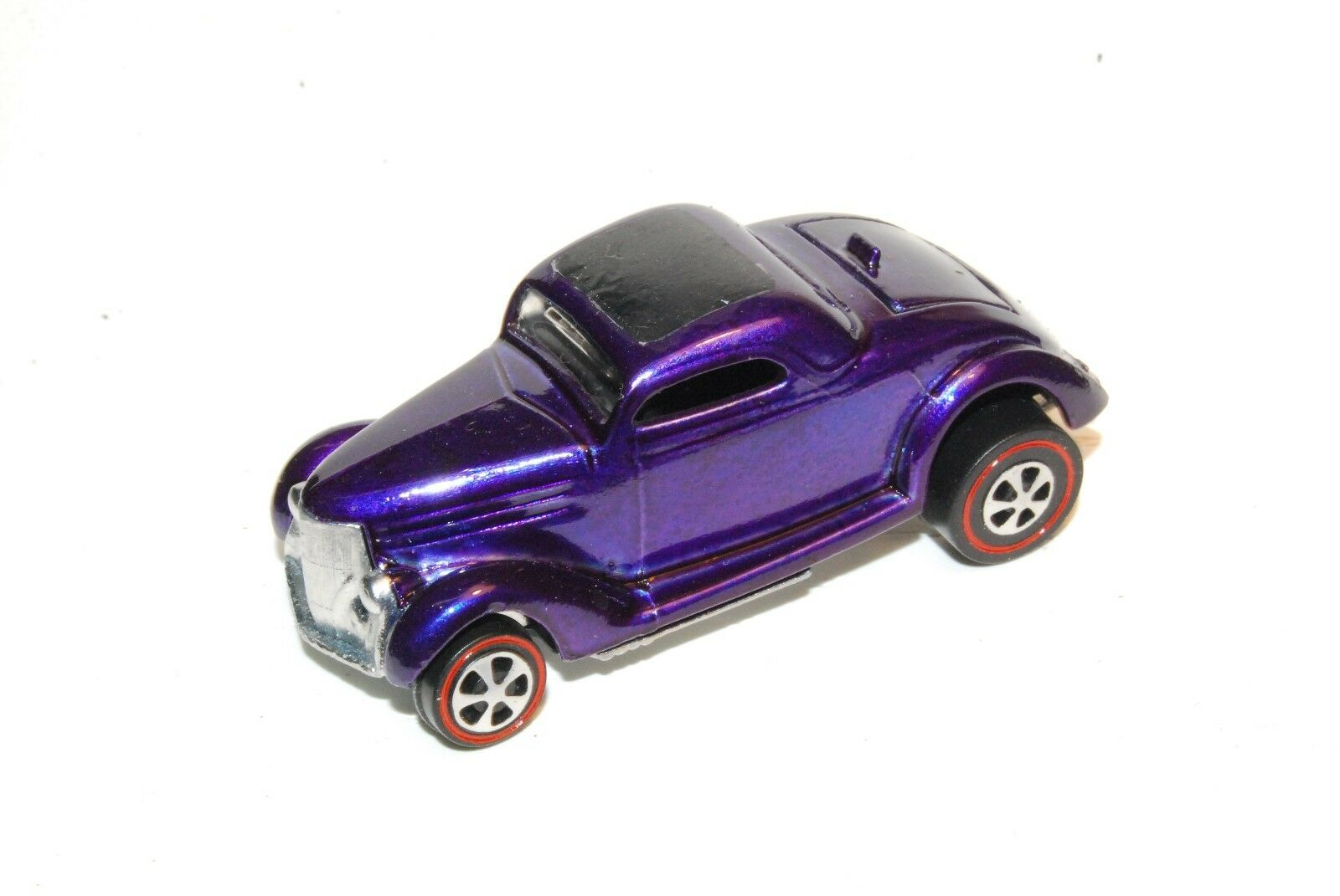 Classic 36 Ford Coupe Original Hot Wheels Redline Restoration Purple