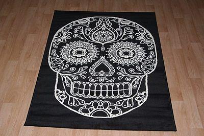 Rug 150cm x 100cm Skull Cross-Bone