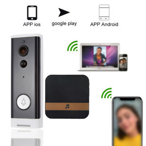 Wireless-WiFi-Intercom-Doorbell-1080P-Video-Camera-IR-Night-View-Phone-Control