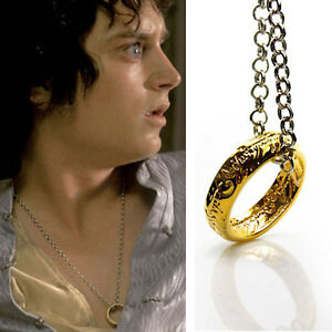 The Hobbit The One Ring Necklace