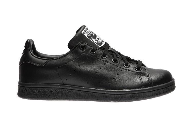 Scarpe sportive bambini ragazzi ADIDAS STAN SMITH pelle col. nero M20604 Scarpe classiche da uomo