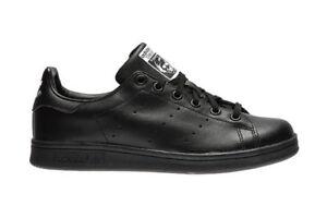 Scarpe sportive bambini ragazzi ADIDAS STAN SMITH pelle col. nero M20604