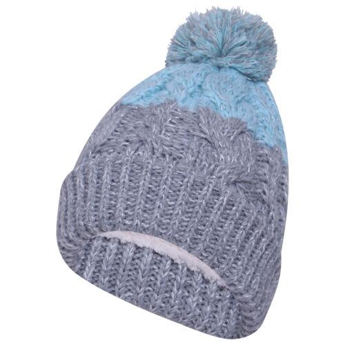 Pro Climate Ladies Waterproof and Windproof Fleece Lined Warm Winter Beanie Hat